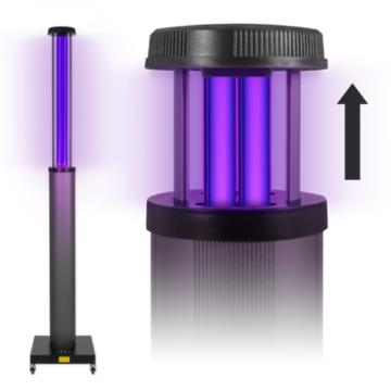 UV2CLEAN Pro200 UV-C, germicid lámpa 200W - max 150 m2-es helyiség kezelésére