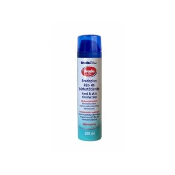 BRADOLIFE / BRADOPLUS Kéz- és bőrfertőtlenítő 100 ml aeroszol: 10 db-os csomag